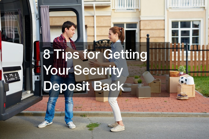 can you get a security deposit back