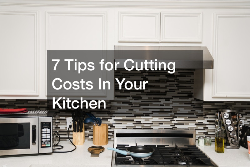 How to cut costs on kitchen remodel